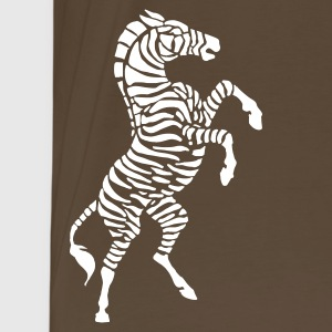 Brown zebra Men's Tees - Men's Premium T-Shirt