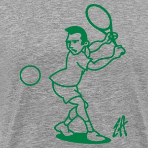 Tennis - Men's Premium T-Shirt