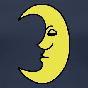 moon - Women's Premium T-Shirt