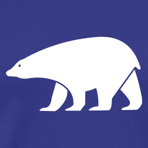 polar bear - Premium T-skjorte for menn
