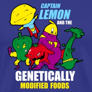 Sky captain lemon an the genetically food T-Shirts - Männer Premium T-Shirt