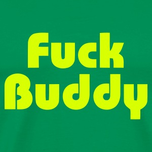 Grass green Fuck Buddy Men's Tees - Men's Premium T-Shirt