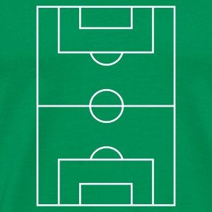 Football Pitch - Premium-T-shirt herr