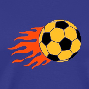 burning ball - Herre premium T-shirt