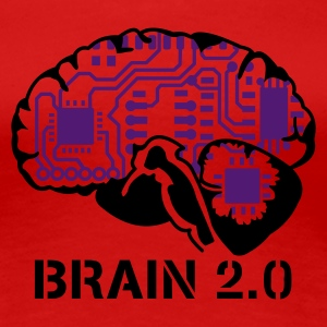Brain 2.0 - Frauen Premium T-Shirt