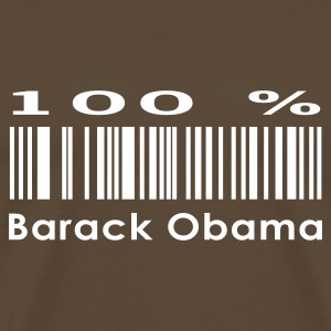 Brown Barack Obama T-Shirts - Men's Premium T-Shirt