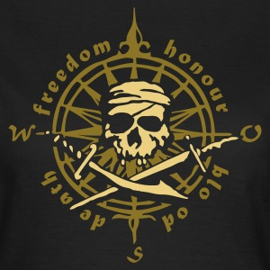 Pirate skull - Frauen T-Shirt