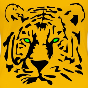 Tiger T-Shirt - Frauen Premium T-Shirt