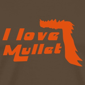Brown mulletlove T-Shirts - Men's Premium T-Shirt
