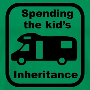 Motorhome - kid's inheritance T-Shirts - Men's Premium T-Shirt