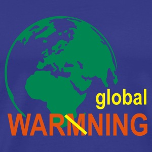 Sky global warming T-Shirts - Männer Premium T-Shirt