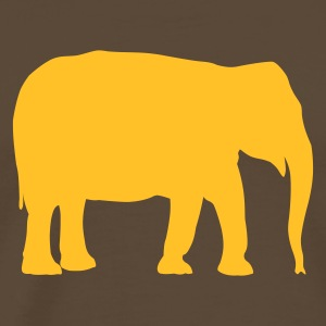Brown Elephant - Africa - savanna  Men's Tees - Men's Premium T-Shirt