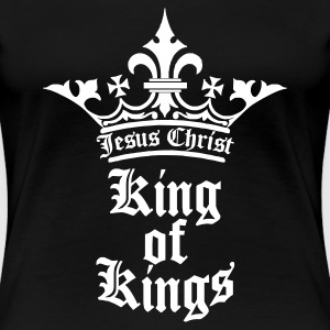 Schwarz king_of_kings T-Shirts - Frauen Premium T-Shirt