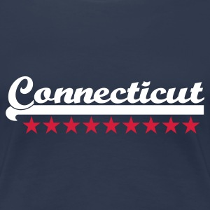 Navy connecticut T-Shirts - Frauen Premium T-Shirt