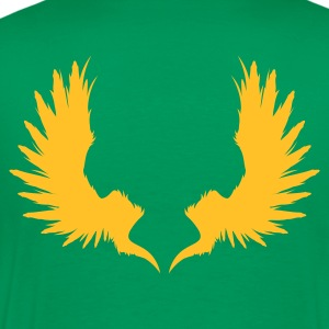 Wings (v1, 1c, MPen) - Men's Premium T-Shirt