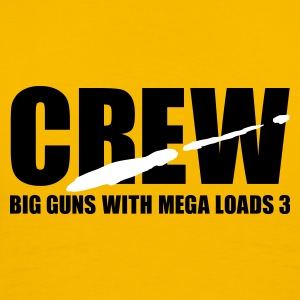 Yellow porno crew T-Shirt - Men's Premium T-Shirt