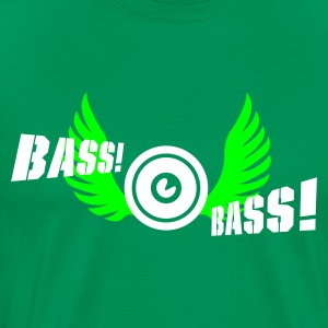 Bottlegreen bass bird T-Shirts - Männer Premium T-Shirt