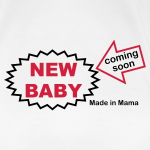 Weiß made_in_mama T-Shirts - Frauen Premium T-Shirt