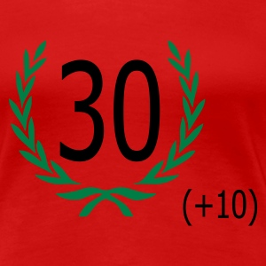 Red 40 birthday Ladies' - Women's Premium T-Shirt