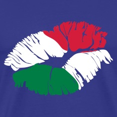 Royal blue italian kiss T-Shirts