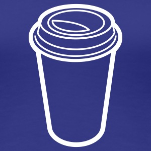 latte to go - Frauen Premium T-Shirt