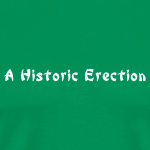 a historic erection - Men's Premium T-Shirt