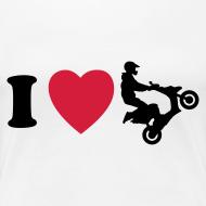 Grafiikka ~ I heart scooter (naisten)