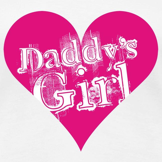 Valkoinen daddys_girl T-paidat
