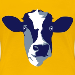 Drink More Milk Cow Print T Shirt - Women's Premium T-Shirt