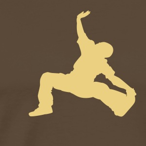 Breakdance - Herre premium T-shirt