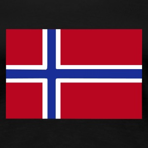 Norwegen, Norway, Fahne, Flagge - Frauen Premium T-Shirt