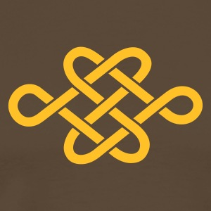 endless knot - Men's Premium T-Shirt