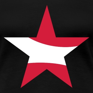 Black star austria Ladies' - Women's Premium T-Shirt