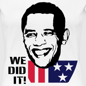 Obama for Präsident - Frauen Premium T-Shirt