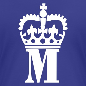 Aqua M - Crown - Letters Ladies' - Women's Premium T-Shirt