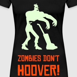 Black Zombie Hoovers Women's Tees - Women's Premium T-Shirt