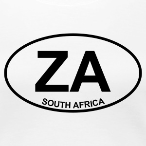 White ZA South Africa Women's Tees - Women's Premium T-Shirt