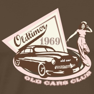 Old Car Club - Premium-T-shirt herr