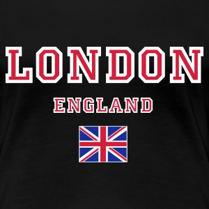 Black London, England Women's Tees - Women's Premium T-Shirt