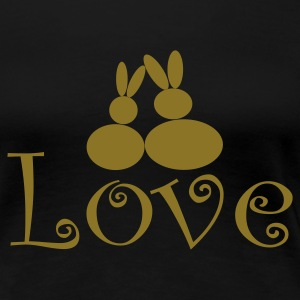 :: Rabbit Love :: - Frauen Premium T-Shirt
