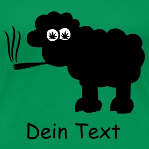 Grasgrün Blacksheep Chill T-Shirts - Frauen Premium T-Shirt