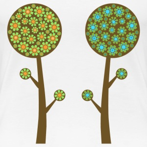 trees - Women's Premium T-Shirt