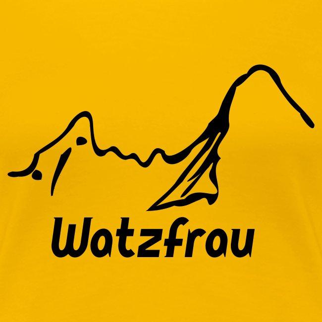 T-Shirt Watzfrau
