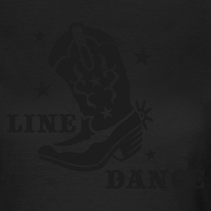Olive ::LINE DANCE:: T-Shirts - Frauen T-Shirt