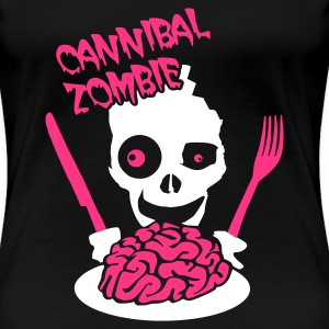 Tee shirts cannibal spreadshirt for Cuisinier zombie