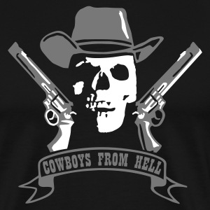 cowboys_from_hell T-shirts - Premium-T-shirt herr