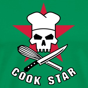 cook_star_2 T-shirts - Herre premium T-shirt