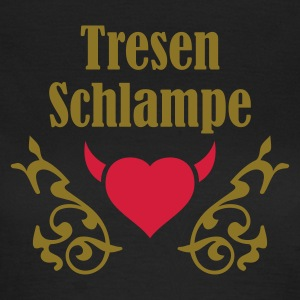 Chocolate tresenschlampe_2 T-Shirts - Frauen T-Shirt
