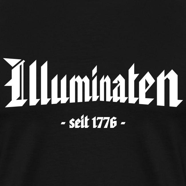 "Männer Übergrößenshirt ""Illuminaten"""