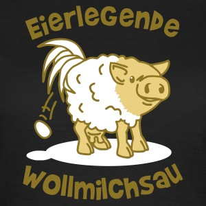 Chocolate eierlegende wollmilchsau Girlie - Frauen T-Shirt